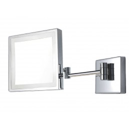 SQUARE MAGNIFYING MIRROR LED