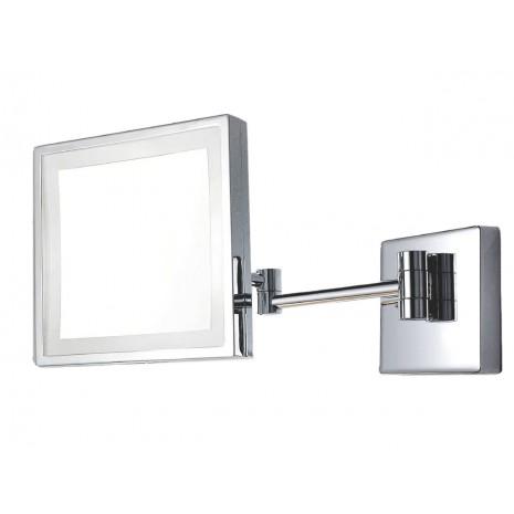 VIERKANTE BADKAMERSPIEGEL MET LED