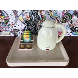 IVORY MELAMINE BASE TRAY