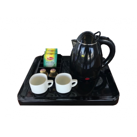 BLACK MELAMINE BASE TRAY