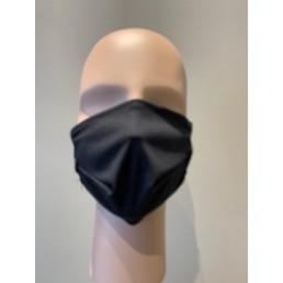 Masque noir en textile non médical