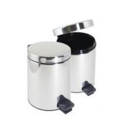 PEDAL BIN 5L - STAINLESS STEEL
