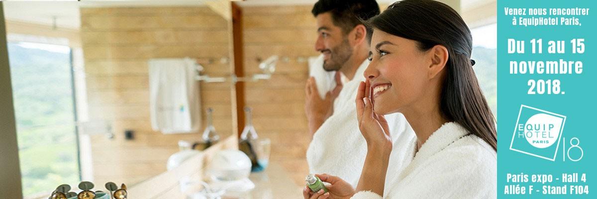 Produits et accessoires pour hôtels et spas